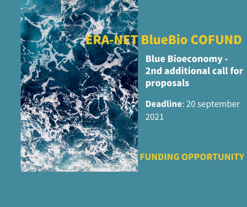 BlueBio Cofund Second additional Call Announcement